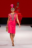 Sue Wong brings her designs to the runway at Art Hearts Fashion during Los Angeles Fashion Week Monday October 5th, 2015.
