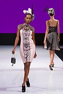 Sue Wong presents her line on the runway at Art Hearts Fashion during Los Angeles Fashion Week Monday October 5th, 2015.