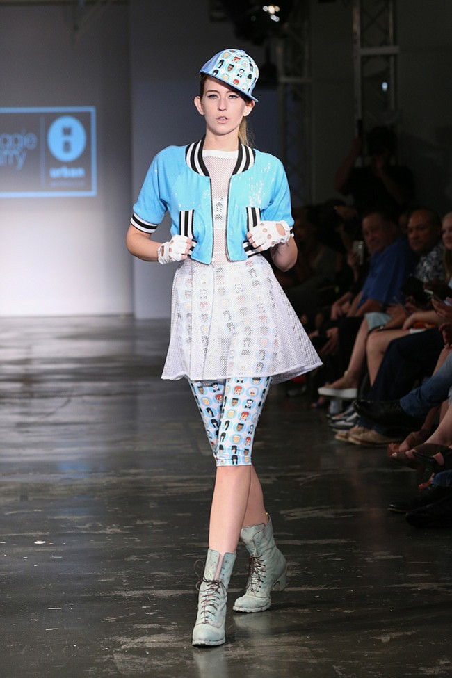 Maggie Barry presents her designs at Style Fashion Week during LAFW at the Reef Oct.15th 2015.