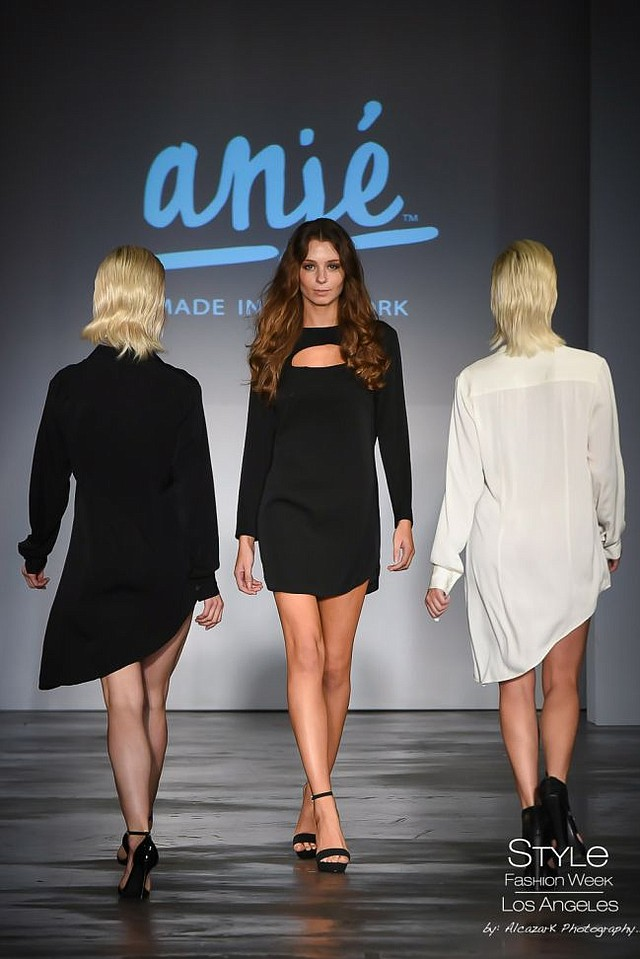 Image from the Anjé runway show at Style Fashion Week. Images courtesy of Style Fashion Week.