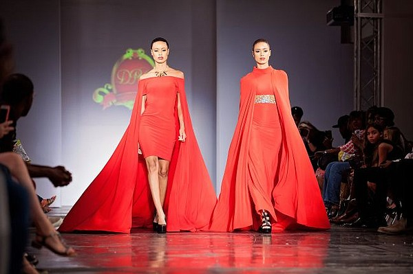 From LA Caribbean's showcase at Style Fashion Week. Hilda Mauya's designs pictured on the runway. All photos by Gigi and Elsy.