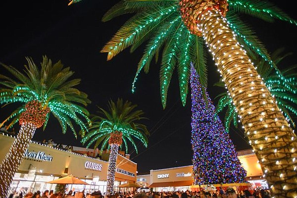 Image from the 2014 tree lighting celebration at Citadel Outlets. Photo courtesy of Citadel Outlets.