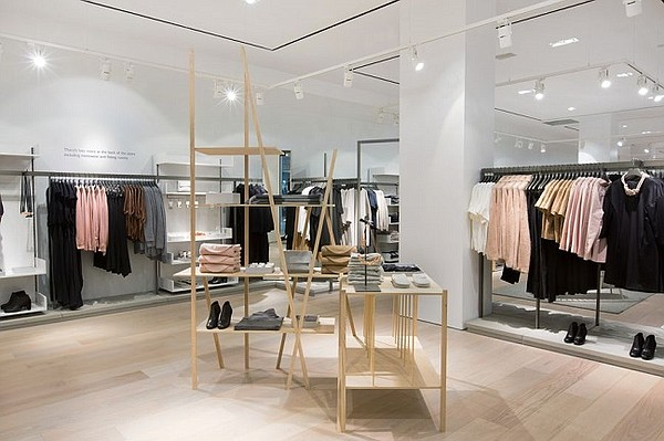 Cos clothing stores uk
