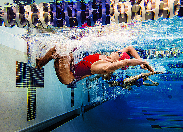 Speedo performance suits are made with some of the industry's most innovative compression fabrics.