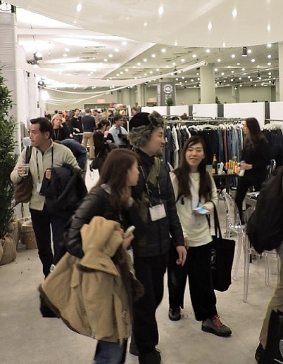 CONSOLIDATING BUSINESS: With a blizzard keeping traffic light on opening day, many exhibitors at Project were looking to pick up added business on the second and third days of the show.