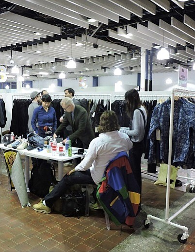 NEW DIGS: Capsule kicked off its three-day show in a new location next to the Liberty Fairs trade show.