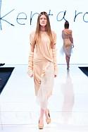 Kentaro designs on the runway at Art Hearts Fashion, Los Angeles Fashion Week Monday March 14 2016
