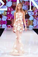 Isaac Newtons designs on the runway at Art Hearts Fshion. LAFW Monday March 14th 2016.