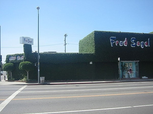 Fred Segal on Melrose Avenue