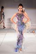 Quynh Paris at Style Fashion Week. Pacific Design Center Thursday March 17, 2016.