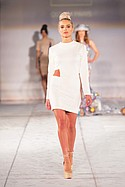Quynh Paris at Style Fashion Week. Pacific Design Center Thursday March 17th 2016.