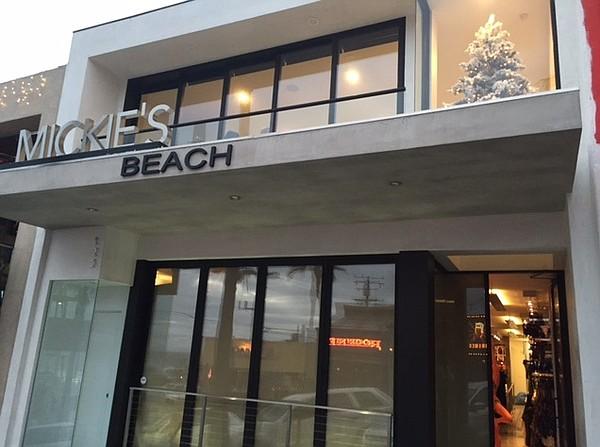 Diane's Swimwear's Mickie's Beach store in Manhattan Beach, Calif.