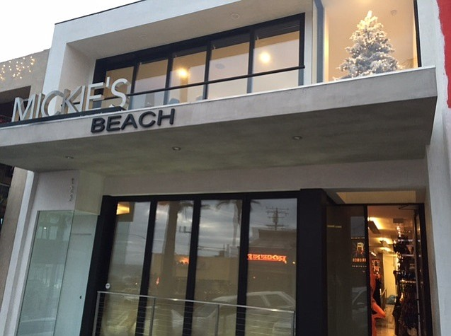 Diane's Swimwear's Mickie's Beach store in Manhattan Beach, Calif.