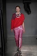 Celine Sohrabian with jewelry by Shuangning Sici Li
