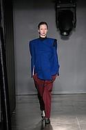 Febri Artha Jayanti with knitwear by Rebecca Dovenryd Almberg