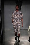 Justin Moreno with textiles by Namrata Bhandari