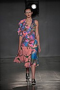 Regina J. Yoon with textiles by Jadi Haynes