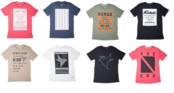 Konus Brand's limited-edition T-shirts