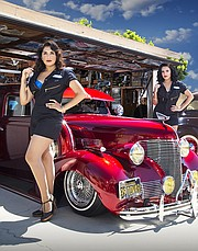Lowriders And PinUps At LA Classic Car Show California Apparel News - Classic car show california
