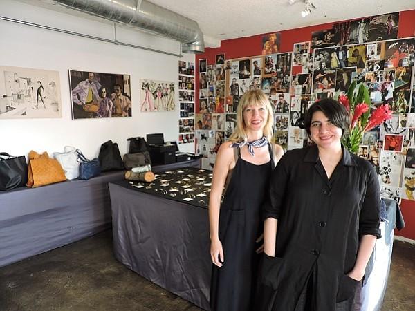 Mary Margaret Hocker and Gisela Borgi
