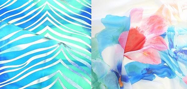 "NK Textile ""Zebra Foil"" and Confetti Fabrics ""Armonia"""