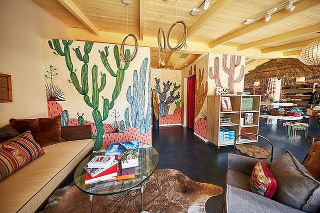 A view of Faherty's shop at Malibu Country Mart in Malibu, Calif. Image courtesy Faherty.