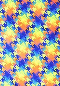 "Pine Crest Fabrics #FTP01647C1 ""Houndstooth Digital"""