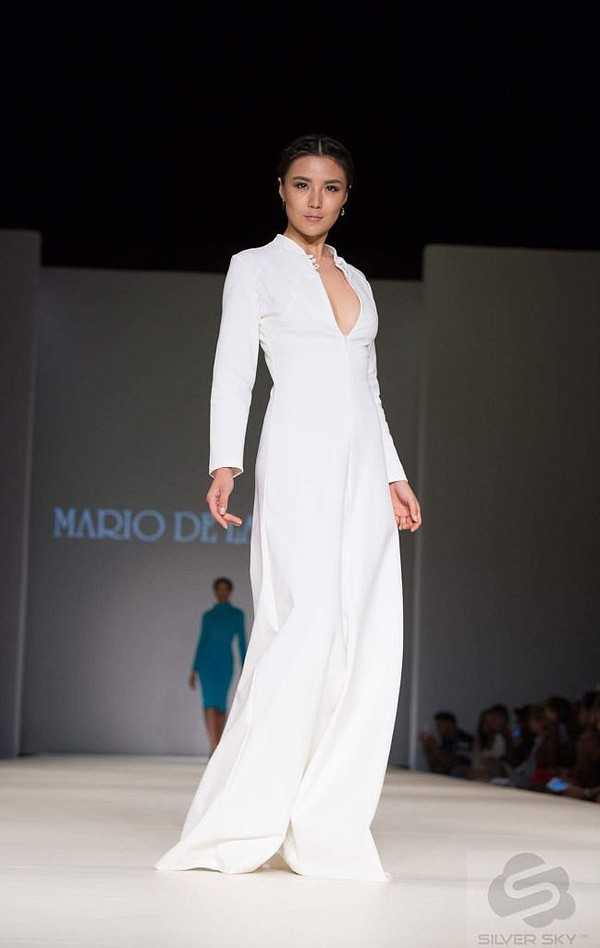 From Mario De La Torre runway show at Style Fashion Week in New York. All photos by Mark Gunter.