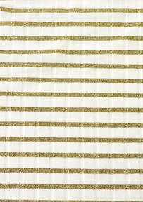 Asher Fabric Concepts #VXR158-GX Viscose Stripe 15x8 Rib Natural/Gold