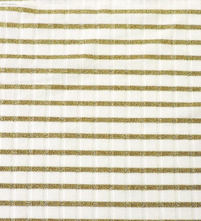 Asher Fabric Concepts #VXR158-GX Viscose Stripe 15x8 Rib Natural/Gold