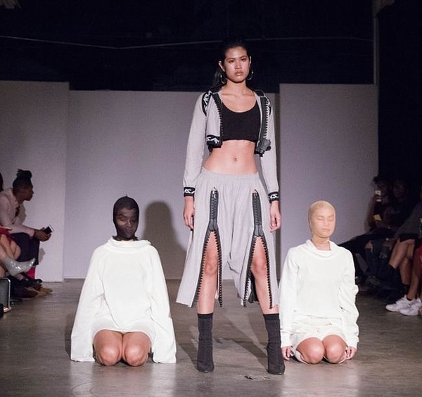 Look from Samsara Collections runway show on Sept. 26. All photos by Michael Bradley
