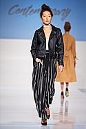 NYTT bodysuit, Romeo+ Juliet pant, Vero Moda jacket, Maxberry choker