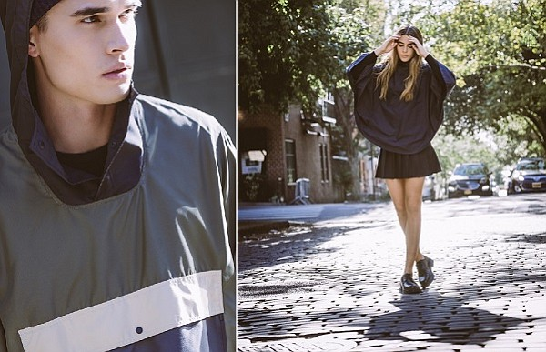 Looks from Herschel Supply Co.'s debut fashion lines. Images courtesy of Herschel Supply Co.