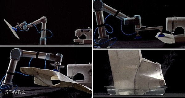 SewBo process allows for robotic sewing.