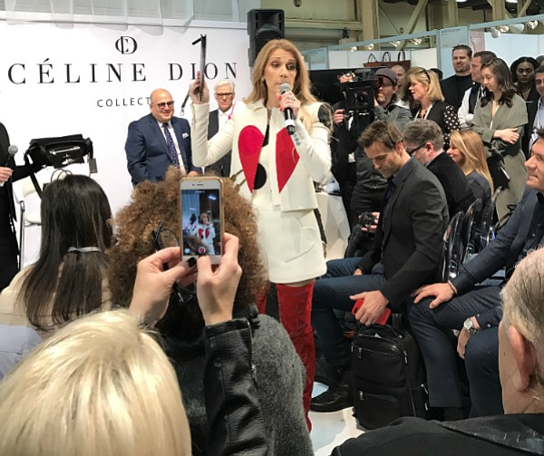 Celine Dion at Project Womens in Las Vegas