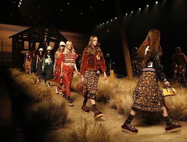 Coach 1941's New York Fashion Week runway show. Image courtesy Coach.