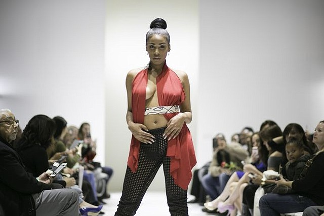 A look from the Mica J Smith line. All images courtesy of Brigade LA.