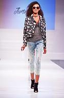 Jolt jacket, Penelope Project tee, Trixxi bralette, Wild Blue jean