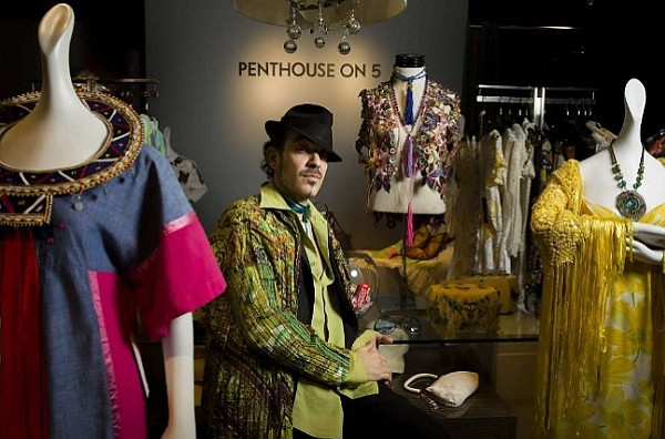 Torso Vintages owner John Hadeed (image courtesy of the San Francisco Chronicle)