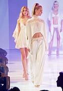 Fashions mentored by designer Claire Pettibone