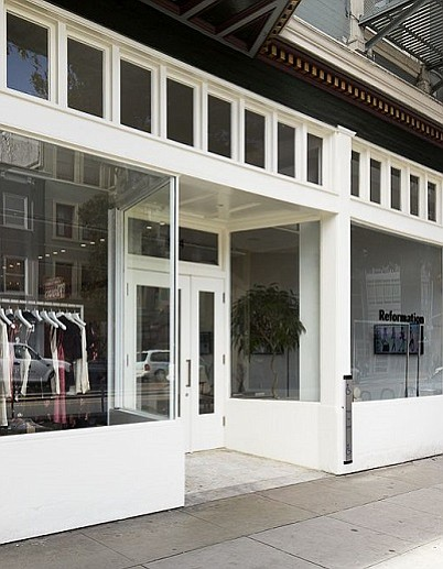REFORMATION ECO: In February, Reformation opened an eco-friendly, tech-informed boutique in San Francisco, pictured above. Photo by Matthew Millman | Photo by Matthew Millman