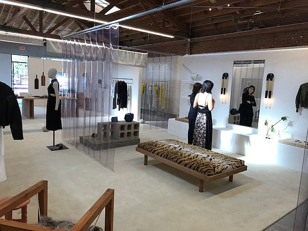 Interior of Arts District 3.1 Phillip Lim shop.  Photos by Andrew Asch