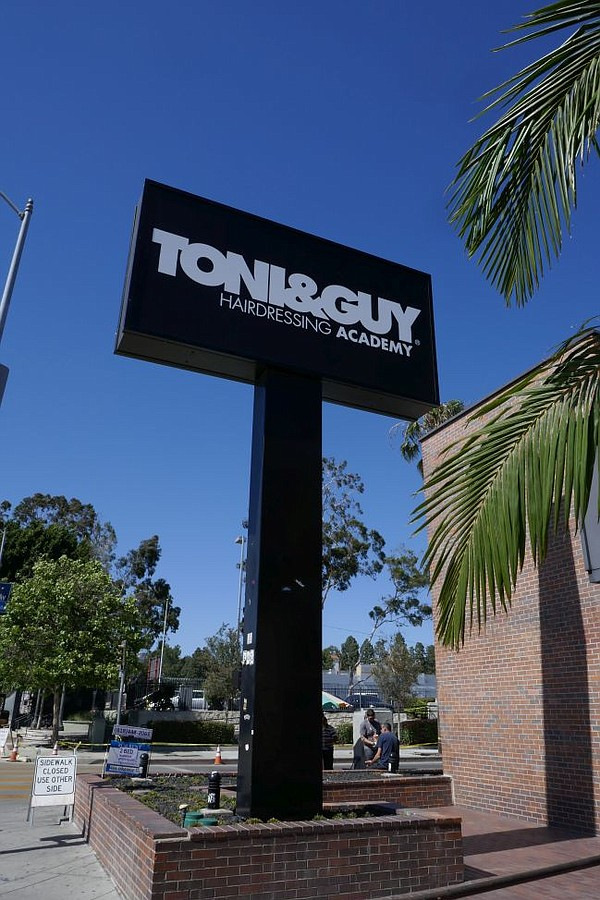 Toni & Guy will open on Fairfax Avenue.