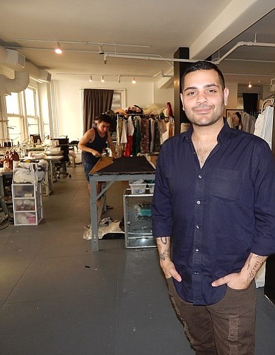DESIGNING MAN: Michael Costello inside his downtown LA studio