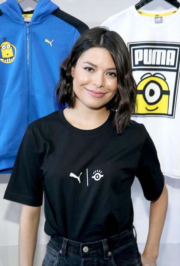 Miranda Cosgrove of Despicable Me 3 at Bait. Photo courtesy of Puma X Minions.