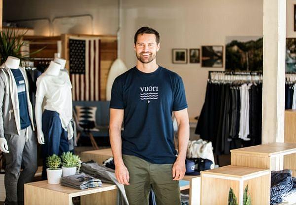 Joe Kudla, founder of Vuori brand. Images courtesy Vuori.