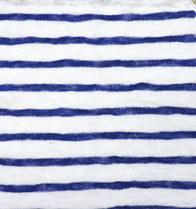 Asher Fabric Concepts #VPJR120-BL Poly Viscose Jersey Stripe