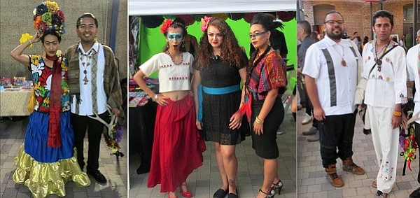 Attendees and models drew lots of attention with their Mexican-inspired fashion looks