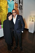 Tonian Hohberg, FIDM president, and Hayma Washington, chairman and chief executive officer of the Television Academy