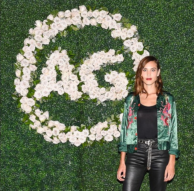Alexa Chung. All photos by Owen Kolasinski/BFA.com